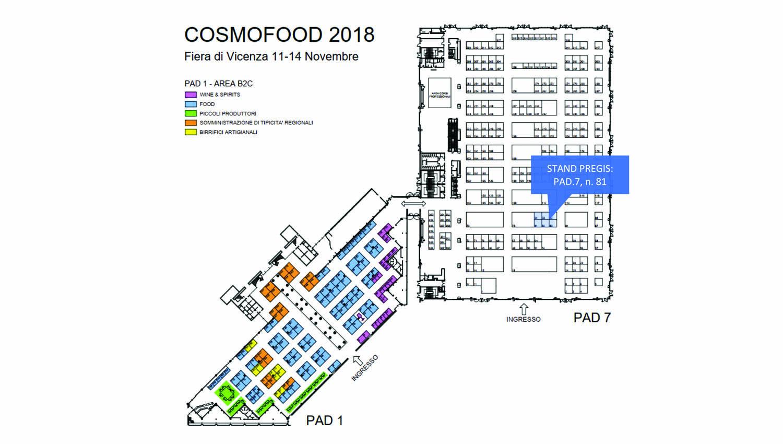 cartina Pregis cosmofood
