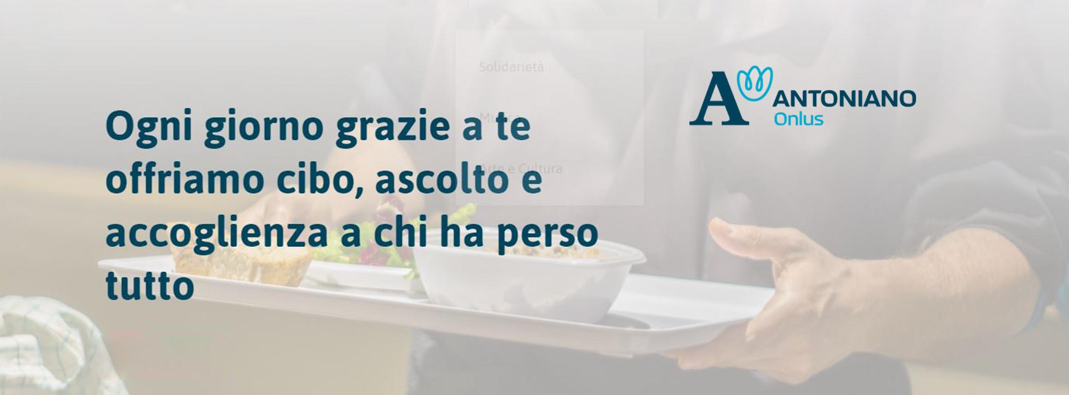 A SOSTEGNO DELL'OPERAZIONE PANE DELL'ANTONIANO ONLUS